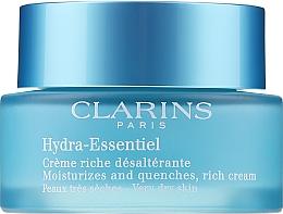Kup Bogaty krem nawilżający do skóry suchej - Clarins Hydra-Essentiel Rich Cream