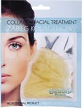 Kup PRZECENA! Płat kolagenowy z diamentami i złotem - Beauty Face Collagen Gold & Diamond Regenerating Home Spa Treatment Mask*