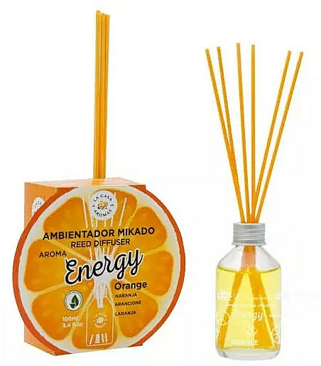 Dyfuzor zapachowy Energetyzująca pomarańcza - La Casa de Los Aromas Energy Reed Diffuser — фото N1
