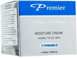 Kup Nawilżający krem do twarzy do skóry normalnej i tłustej - Premier Dead Sea Moisture Cream Normal to Oily Skin