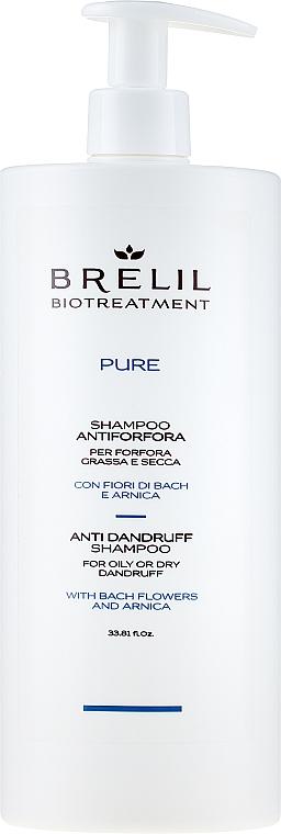Przeciwłupieżowy szampon do włosów - Brelil Bio Traitement Pure Anti Dandruff Shampoo — фото N2