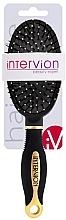 Kup Pneumatyczna szczotka do włosów, 499252, czarno-złota - Inter-Vion