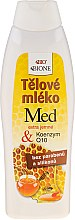 Kup Regenerujące mleczko do ciała z miodem i koenzymem Q10 - Bione Cosmetics Honey + Q10 Body Lotion With Vitamin E