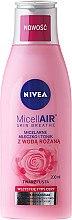 Kup Micelarne mleczko i tonik z wodą różaną - Nivea MicellAir Skin Breathe