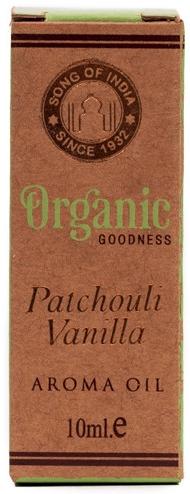 Olejek zapachowy Paczula i wanilia - Song of India Patchouli Vanilla Oil  — фото N1