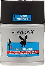 Balsam po goleniu - Playboy Fire Brigade After Shave Balm — фото N1