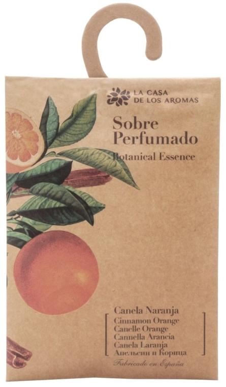 Saszetka zapachowa Pomarańcza i cynamon - La Casa de Los Aromas Botanical Essence Cinnamon Orange — фото N1