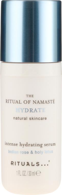Intensywnie nawilżające serum do twarzy Indyjska róża i lotos - Rituals The Ritual Of Namaste Intense Hydrating Serum  — фото N2