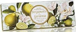 Kup Zestaw naturalnych mydeł w kostce Bergamotka i gardenia - Saponificio Artigianale Fiorentino Bergamot & Gardenia (3 x soap 100 g)