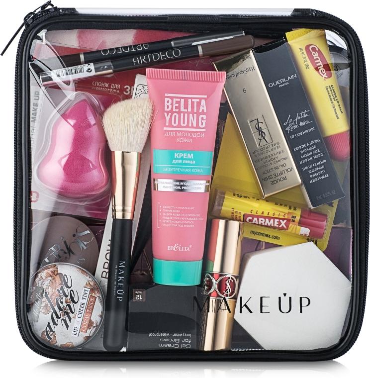 Kosmetyczka przezroczysta Visible Bag (20 x 20 x 8 cm, bez zawartości) - Makeup