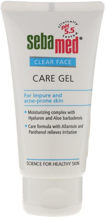 Oczyszczający żel do twarzy - Sebamed Clear Face Gel Moisturizing And Soothing Gel — фото N1