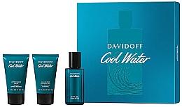 Kup Davidoff Cool Water - Zestaw (edt 40 ml + sh/gel 50 ml + ash/balm 50 ml)