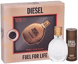 Kup Diesel Fuel for Life Homme - Zestaw (edt 50 ml + sh/gel 50 ml)