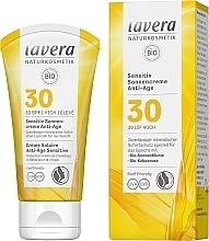 Kup Krem przeciwsłoneczny do twarzy - Lavera Sensitive Sun Cream Anti-Age SPF 30