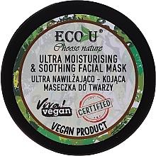 Kup Ultra nawilżająco-kojąca maseczka do twarzy - Eco U Choose Nature Ultra Moisturing & Soothing Face Mask