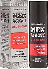 Kup Przeciwstarzeniowy balsam nawilżający po goleniu dla mężczyzn - Dermacol Men Agent All In One Moisturiser After Shave