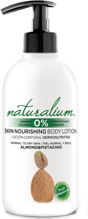 Odżywczy balsam do ciała do skóry normalnej i suchej - Naturalium Almond & Pistachio Skin Nourishing Body Lotion — фото N1