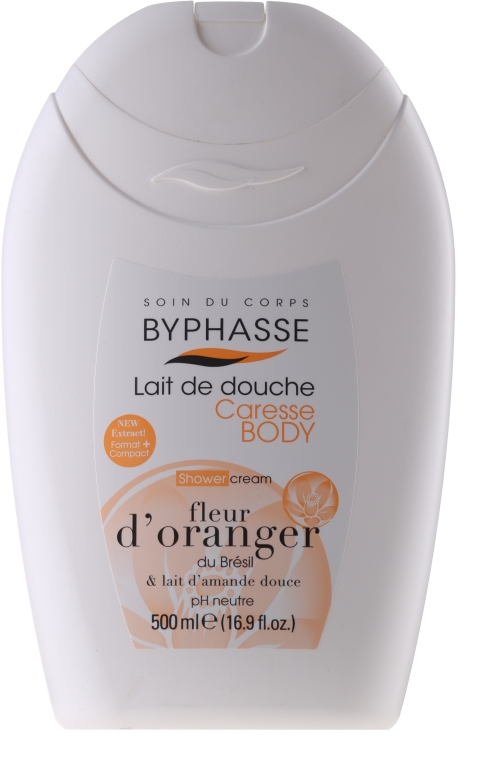 Krem pod prysznic - Byphasse Caresse Shower Cream Orange Blossom