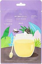 Odżywcza maska w płachcie Miód - Skin79 The Honeyful Snail Mask — фото N1