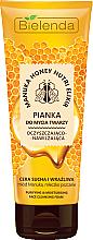Kup Oczyszczająco-nawilżająca pianka do mycia twarzy - Bielenda Manuka Honey Nutri Elixir