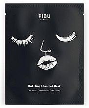 Kup Bąbelkowa maska węglowa w płachcie do twarzy - Pibu Beauty Bubbling Charcoal Mask