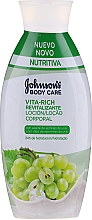 Kup Rewitalizuący balsam do ciała z olejem z pestek winogron - Johnson's® Body Care Vita-Rich Lotion