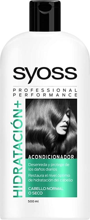 Odżywka do włosów normalnych i suchych - Syoss Hidratacion + Conditioner — фото N1