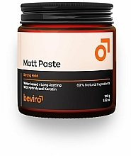 Kup Pasta do włosów, mocno utrwalająca - Beviro Matt Paste Strong Hold