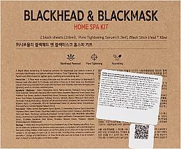 Zestaw do oczyszczania twarzy z zaskórników - Wish Formula Blackhead & Blackmask Home Spa Kit — фото N3