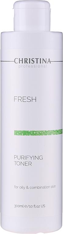 Oczyszczający tonik do skóry tłustej i mieszanej - Christina Fresh Purifying Toner For Oily & Combination Skin
