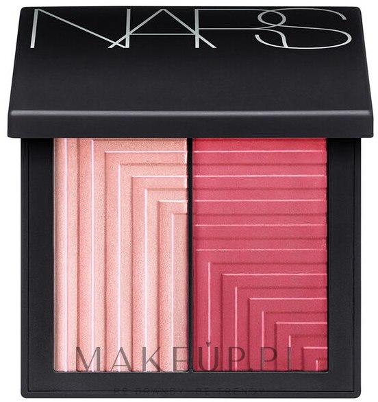 Paletka różów do twarzy - Nars Dual-Intensity Blush — фото Adoration