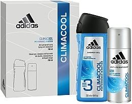 Kup Zestaw do pielęgnacji ciała dla mężczyzn - Adidas Climacool Men (deo/spray 150 ml + sh/gel 250 ml)