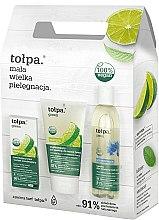 Kup Zestaw do twarzy - Tołpa Green (micell/wat 200 ml + gel 150 ml + cr 50 ml)
