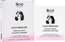 Kup Perfumowane chusteczki odświeżające do włosów - Ikoo Infusions Hair Fresh-Ups Parfume Sheets