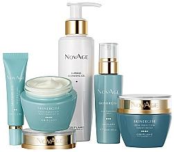 Kup Zestaw do demakijażu - Oriflame NovAge Skinergise Set (gel/150ml+eye/cr/15ml+ser/30ml+day/cr/50ml+/night/cr/50ml)