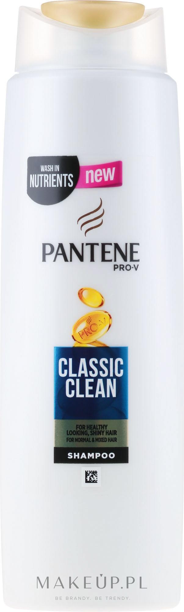 Szampon do włosów - Pantene Pro-V Classic Clean Shampoo — фото 270 ml