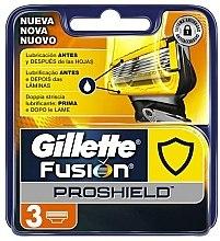 Kup Wymienne wkłady do maszynki do golenia, 3 szt. - Gillette Fusion ProShield