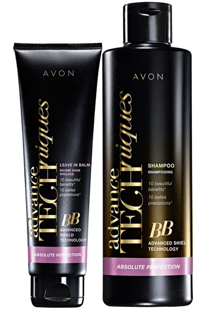 Zestaw - Avon Advance Techniques Absolute Perfection (sh/250ml + balm/150ml)  — фото N1