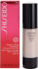 Kup Podkład rozświetlająco-liftingujący - Shiseido Radiant Lifting Foundation SPF 15