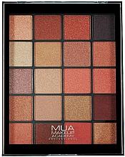 Kup Paleta cieni do powiek - MUA 20 Shade Eyeshadow Palette