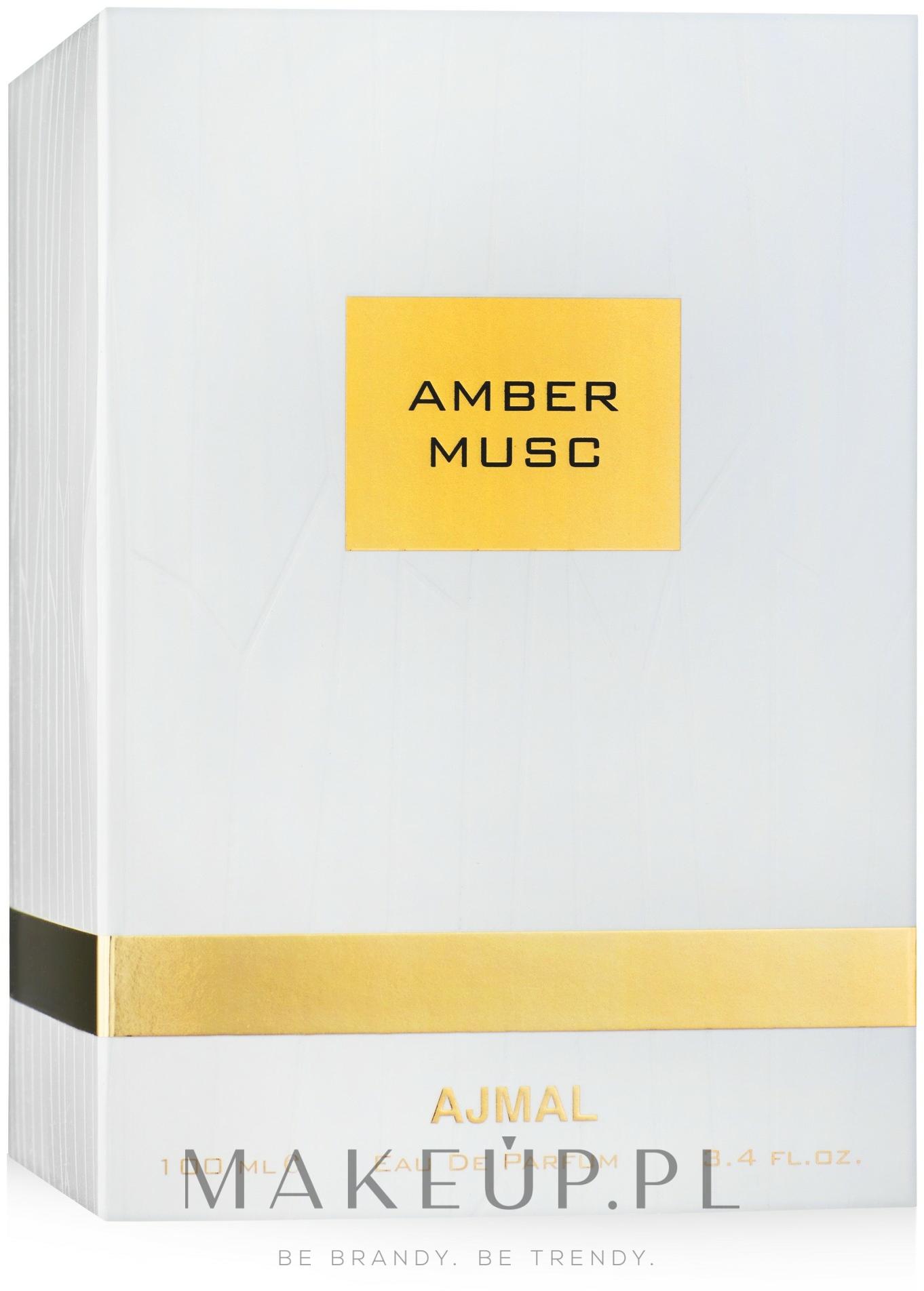 Ajmal Amber Musc - Woda perfumowana — фото 100 ml