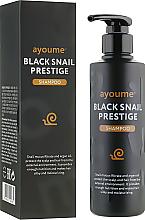 Kup Szampon ochronny z mucyną ślimaka - Ayoume Black Snail Prestige Shampoo