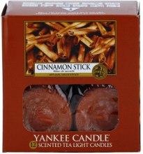 Podgrzewacze zapachowe tealight - Yankee Candle Scented Tea Light Candles Cinnamon Stick — фото N2