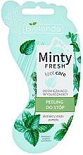 Kup Odświeżająco-wygładzający peeling do stóp - Bielenda Minty Fresh Foot Care Refreshing & Smoothing Foot Peeling