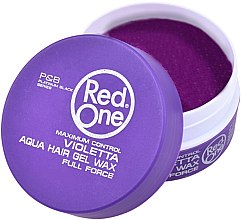 Kup Wosk do włosów na bazie wody - Red One Aqua Hair Gel Wax Full Force Violetta