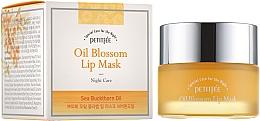 Kup Maska do ust z witaminą E i olejem z rokitnika na noc - Petitfee&Koelf Oil Blossom Lip Mask