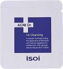 Zestaw - Isoi Acni Dr. Trial Kit (tonic/30ml + gel/cr/7ml + ser/3ml + gel/7x1.3ml) — фото N5