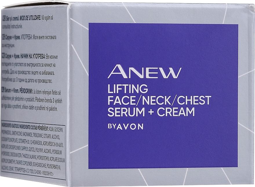 Liftingująco-ujędrniające serum do twarzy, szyi i dekoltu - Avon Anew Clinical Lift & Firm Pressed Serum