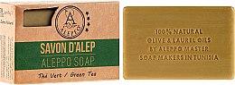 Kup Mydło aleppo w kostce Zielona herbata - Alepeo Aleppo Soap Green Tea 8%