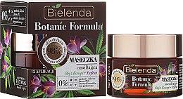 Kup Nawilżająca maseczka do twarzy Olej z konopi + szafran - Bielenda Botanic Formula